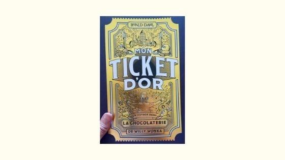 Mon ticket d'orDavid Cadji NewbyWonderbly